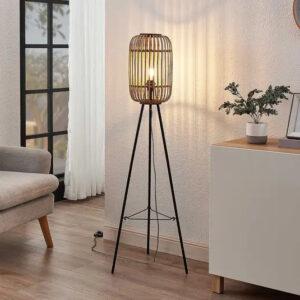 Bamboe vloerlampen