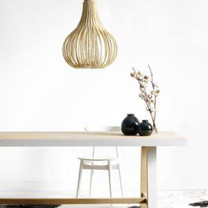 bamboe plafondlampen