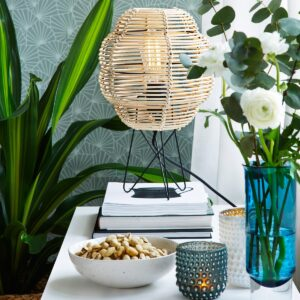 Bamboe tafellampen